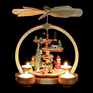 German Christmas  Pyramid / Erzgebirge Wood Carving made by Knuth Neuber