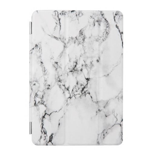 Marble texture iPad mini cover