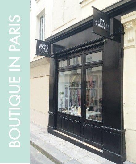 Boutique in Paris - Anna Ka Bazar - Atelier Brunette