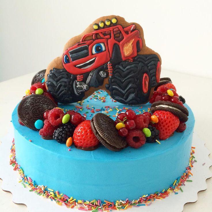 → заказать и купить детский торт мальчику на день рождения.
