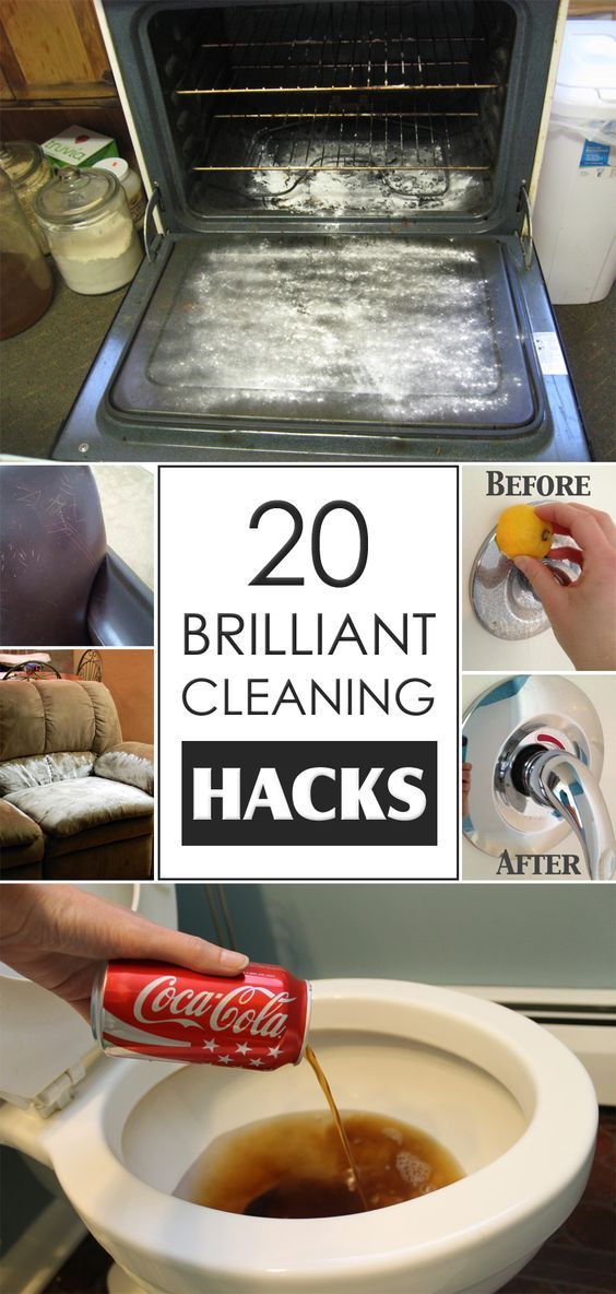20 brilliant cleaning hacks you probably didn t know about for Household hacks