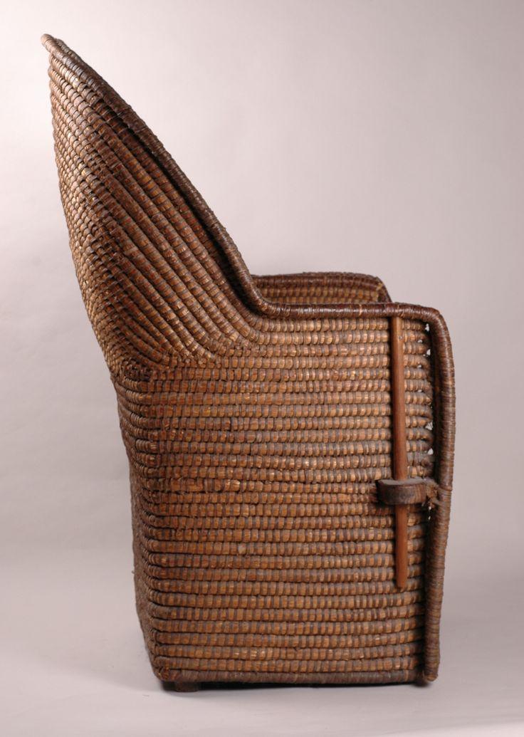 Antique Lipwork Chair   Welsh, Ceredigion. Circa 1850