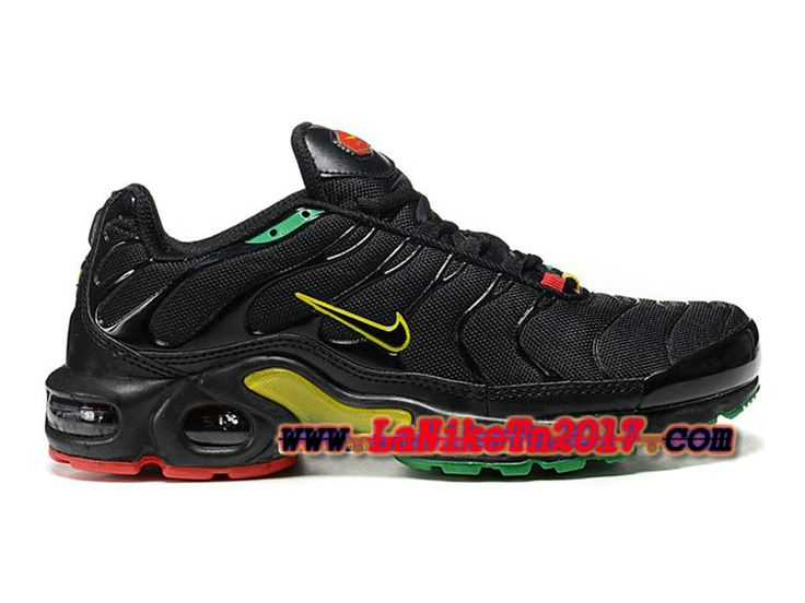 Homme Nike Air Max Tn/Tuned Requin 2013 Noir Vert Chaussures Pas Cher  604133-