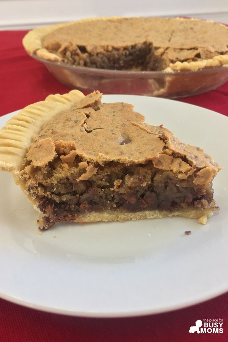 Gluten Free Pecan Pie with Chocolate Chips