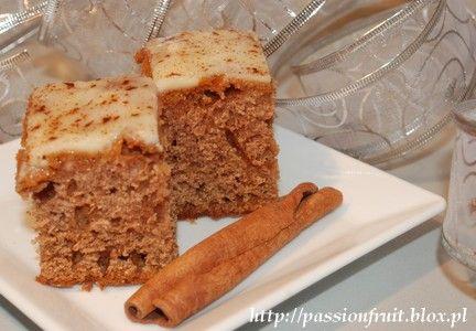 Angielskie ciasto imbirowe