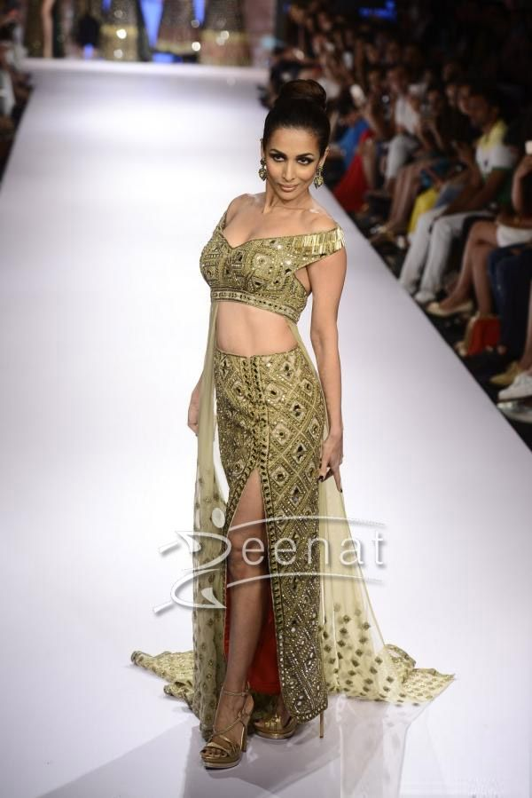 Jacqueline Fernandez Parrot Green Salwar Kameez