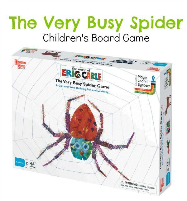 The Very Busy Spider Children's Board Game $6.95 (reg. $15.99)