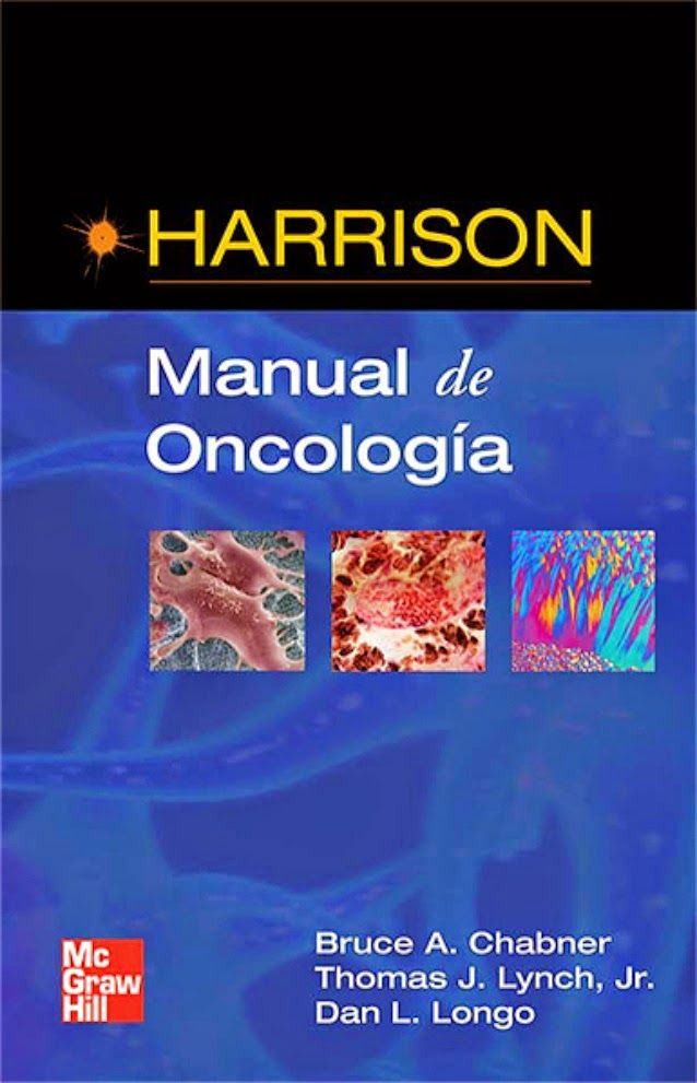 Libros de Medicina PDF Gratis: MANUAL DE ONCOLOGIA DE HARRISON