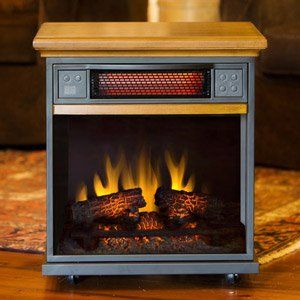 Pre-Season Sale -The Spencer Portable Infared Heater, just $269.99.  http://www.electricfireplacesdirect.com/electric-fireplace-clearance