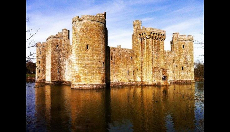 Castillo Bodiam, Sussex Est. (Foto: huffingtonpost.es)