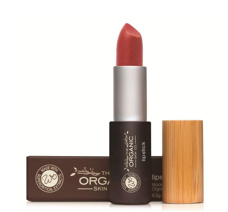 World Organic Lipsticks- Flame Lipstick
