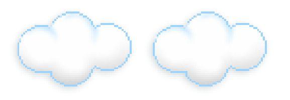 Плывущие облака анимация на прозрачном фоне