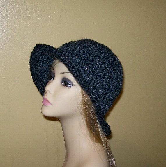 Ladies Gray Bucket Hat by meddywv on Etsy, $22.00  #MarMad #HandmadeCMarmades Handmadec, Mad Hct, Madness Th Promotion, Gray Buckets, Marching Madness Th, 22 00 Marmades, Buckets Hats, Lady Gray