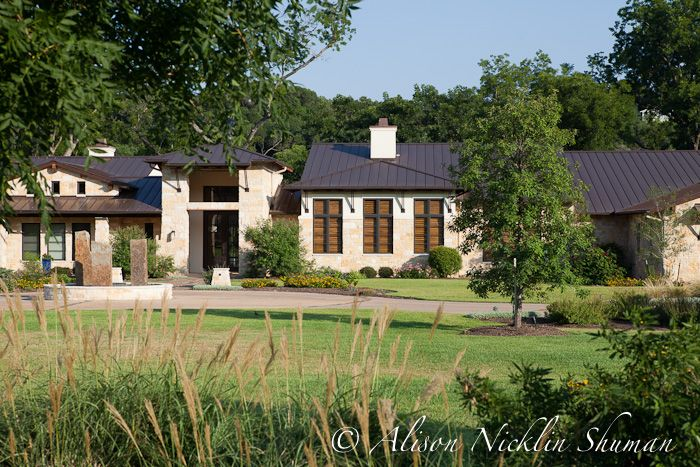 100 best texas hill country homes images by preston wood for Hill country stone
