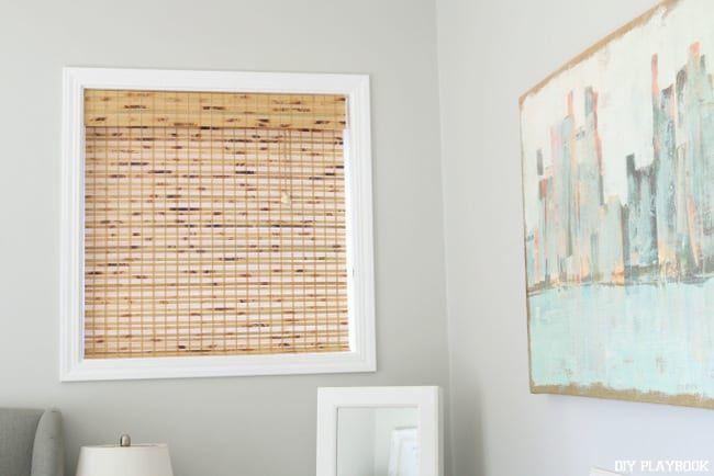 How To Shorten Bamboo Window Shades Diy Playbook In 2020 Diy Window Shades Bamboo Window Shades Bedroom Blinds