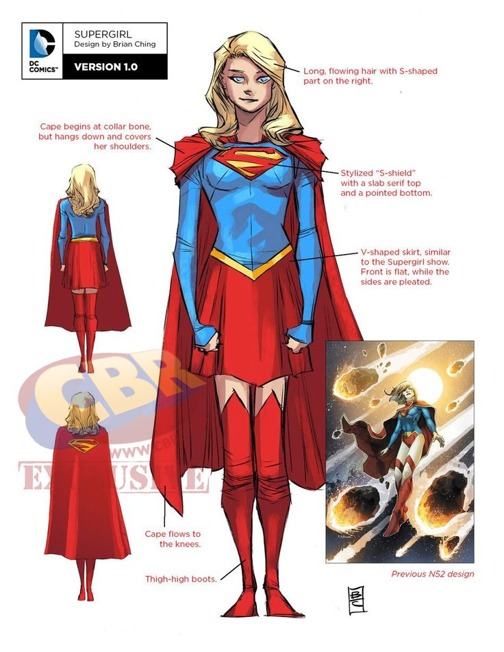 """DC Unveils """"Rebirth"""" Designs For Green Arrow, Supergirl and Superboy"""