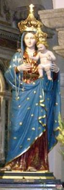 """A painting of """"Saint Antonio"""" signed """"Voci 1951"""" was recently discovered by Nicola Raspa & Mario Voci in a church in the  village of Gasperina, Italy, August 10, 1920 birthplace of Antonio Innocenzo """"Diego"""" Voci.  If the wonderful statue of the """"Madonna Dei Terminini"""" had not been discovered there may never have been a church of the same name in which to find Diego's painting of Saint Antonio.  See the video celebration of """"Madonna Dei Termini"""" http://youtu.be/0tPL_mUly1w."""