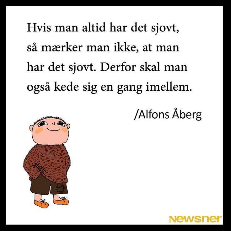 Alfons Åberg: kedsomhed