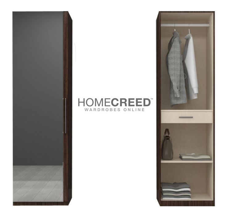 Personalize your wardrobe with Rio-Mirror according to your needs and storage!