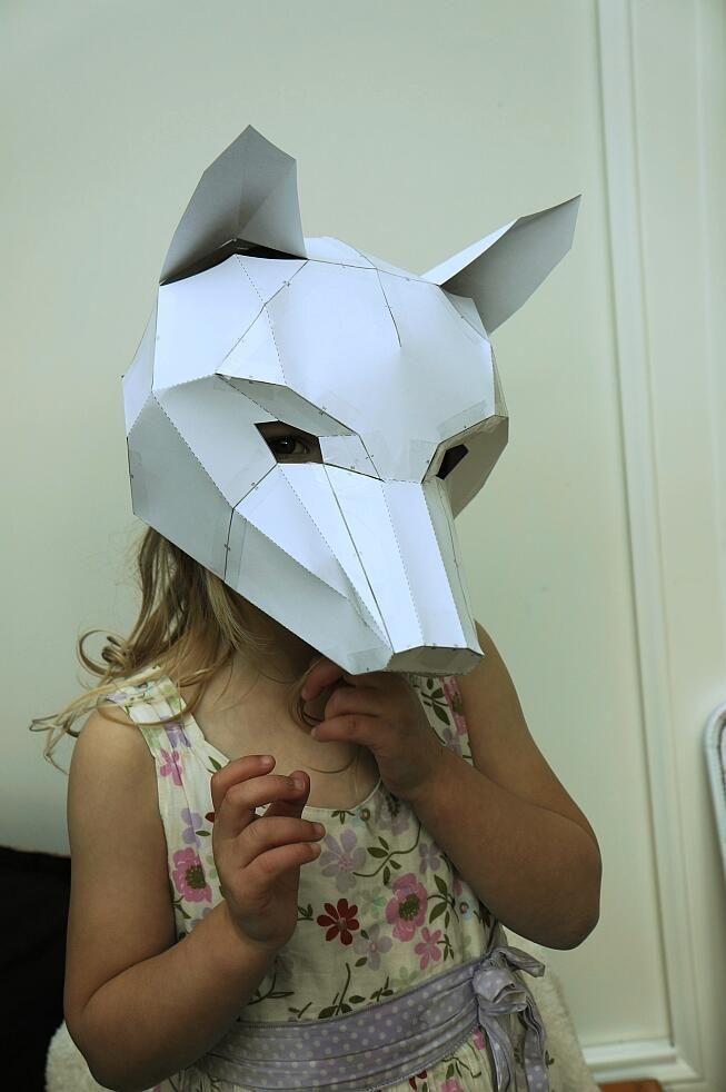Wintercroft Fox Half Mask Build Tutorial - YouTube  Wintercroft Fox Mask