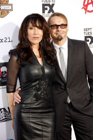 Katey Sagal with her husband and Writer of Sons of Anarchy Kurt Sutter