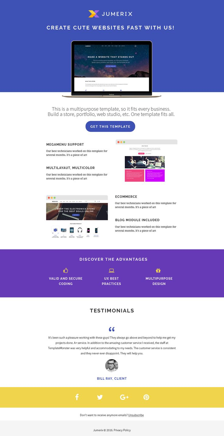 Newsletter's page of Jumerix - New Joomla Template http://www.templatemonster.com/jumerix-multipurpose-joomla-template-60060.html