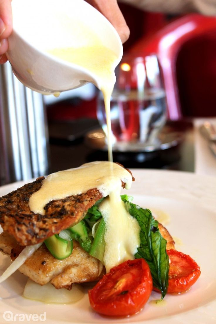 Fillet of Barramundi with fennel salad, sauteed Jerusaled artichokes, and lemon butter at Rosso