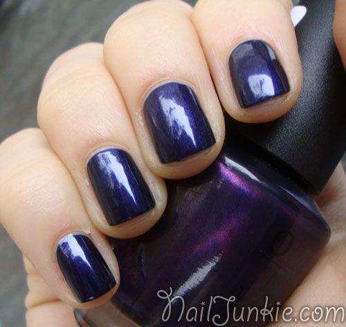 109 best blue black nails and shapes images on Pinterest   Black ...