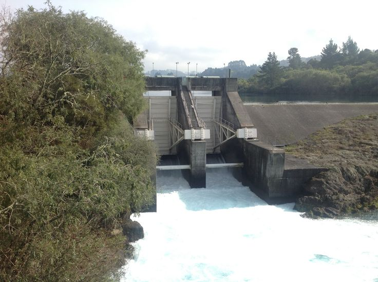 The dam just opening