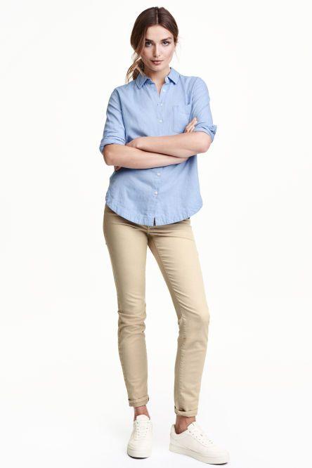 Pantaloni in twill Slim fit