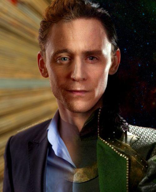 Tom Hiddleston or Loki? Both? Both. Both is good.