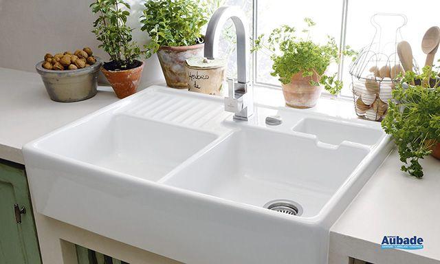 Pourquoi ne pas équiper votre cuisine avec l'évier Tradition de Villeroy & Boch disponible dans l'un de vos 200 magasins Espace Aubade