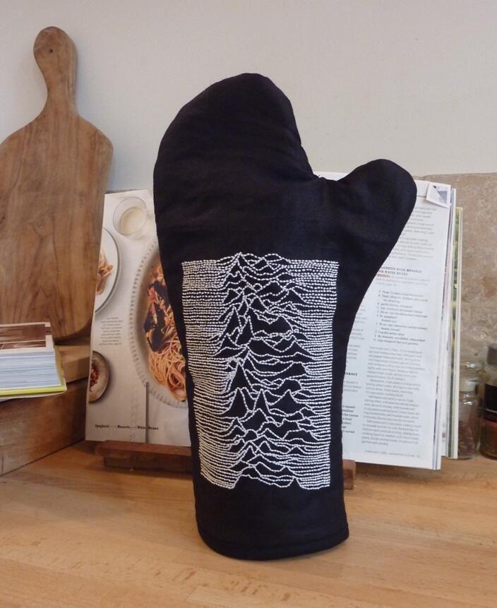 Joy Division oven glove