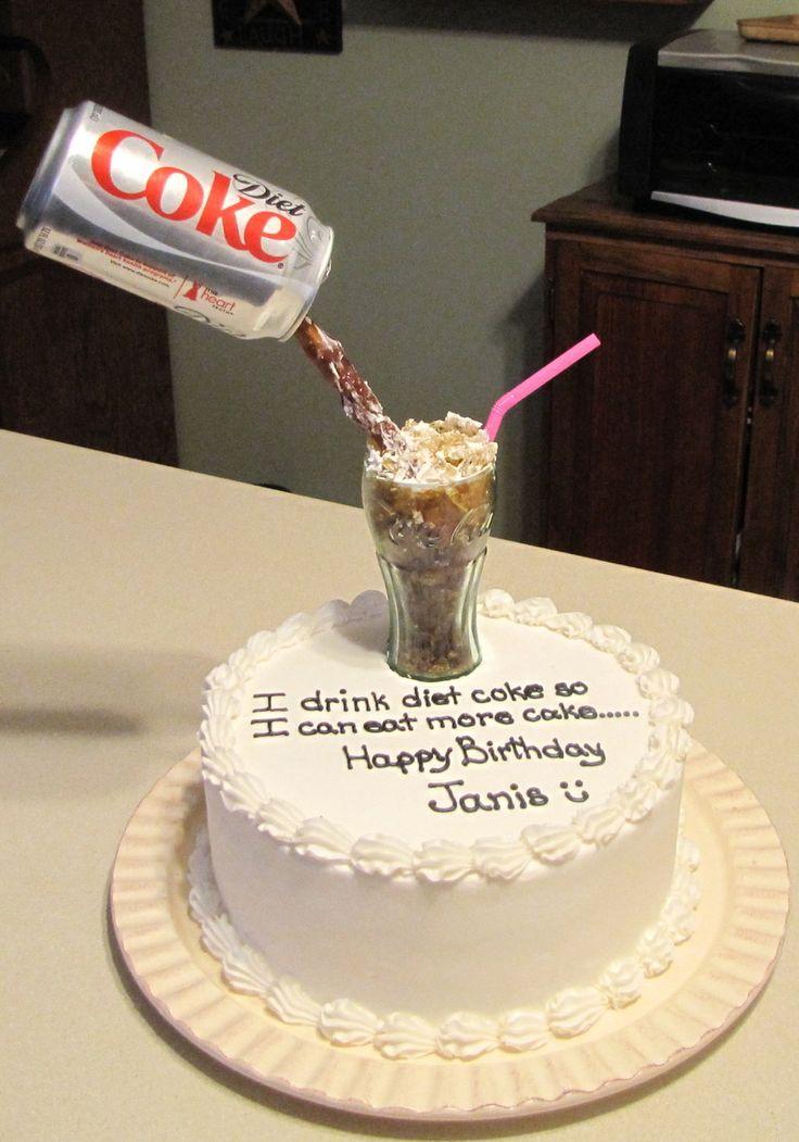 Diet Coke Cake on Pinterest | Diet coke ingredients, Diet soda cake ...