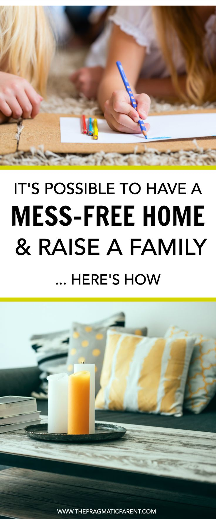 Raising kids is hard enough without having a messy house. Organization tips to create a mess free home and raise your family without any added stress.