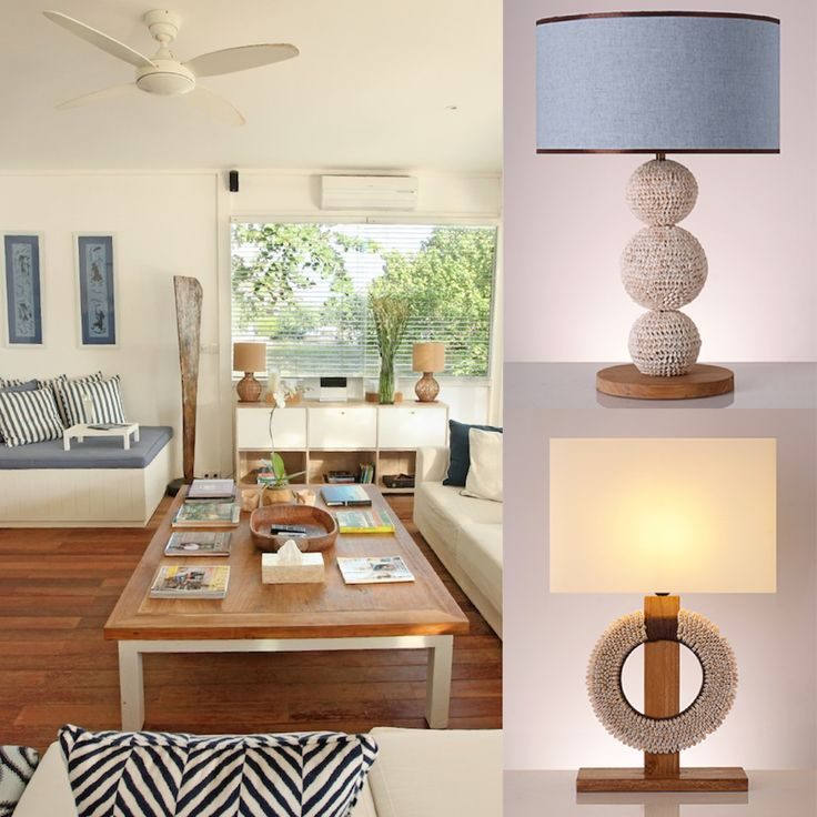 In harmony with the sea right in front of you, our Diva Shell Table Lamp and Papua Table Lamp, which are made of shells, are the perfect options to enhance the natural look of your sitting room. #pimentrouge #bali #lighting #lamps #homedecor #interior #design #styling #blue #harmony #bythesea #beachfront #seashore #islandlife #tropical #paradise #getaway #shells #seashells #cozy #seaside #blue