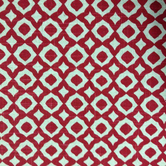 Marokkanische Rubin Stoff  Polsterstoff von Hof von ShopMyFabrics