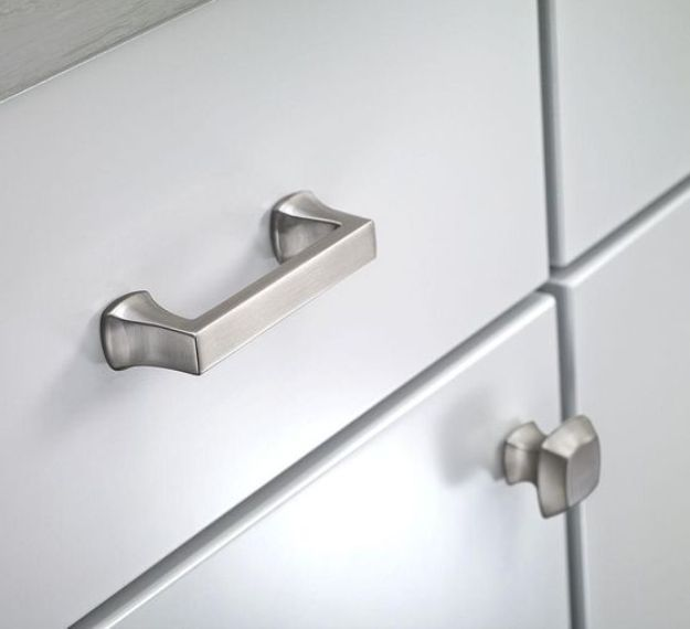 Superbe Brushed Nickel Cabinet Knobs And Pulls | Kitchen Cabinet Pull | Cabinet,  Kitchen Cabinets, Dan Kitchen Cabinet Hardware