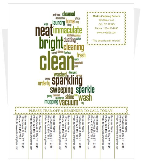 15 Best Cleaning Flyers Images On Pinterest | Flyers, Cleaning