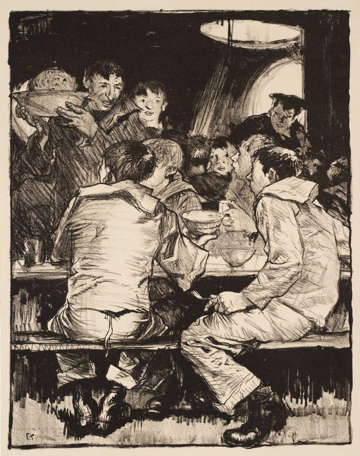Frank Brangwyn - Making Sailors: 'Duff'' - c.1917