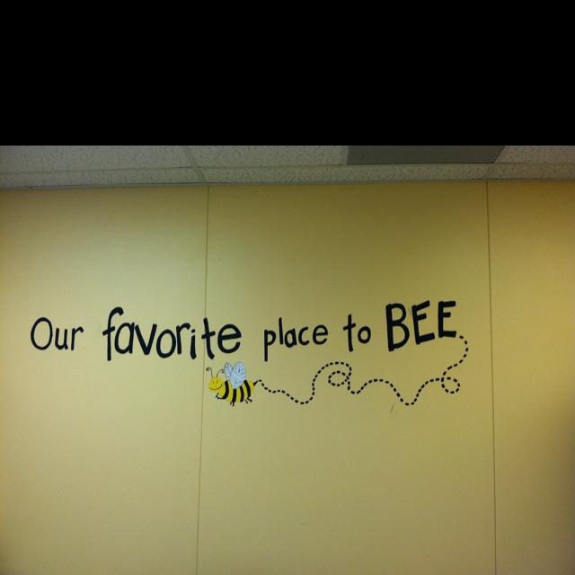 Love my bee theme :)
