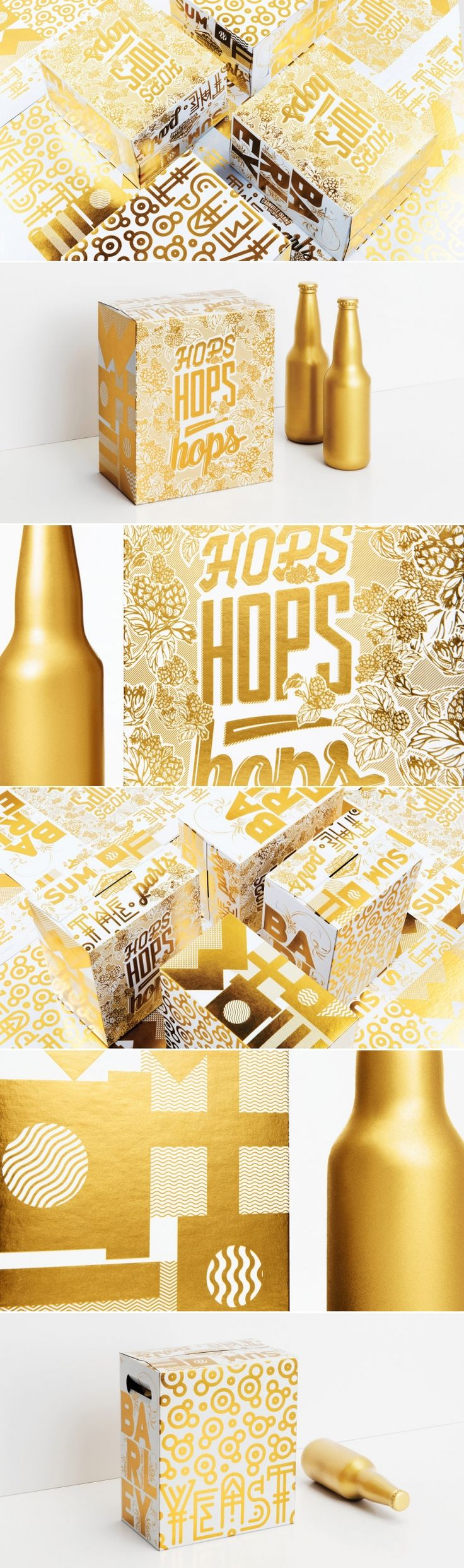 Six Packs Have Never Looked Quite As Glamorous As This — The Dieline | Packaging & Branding Design & Innovation News