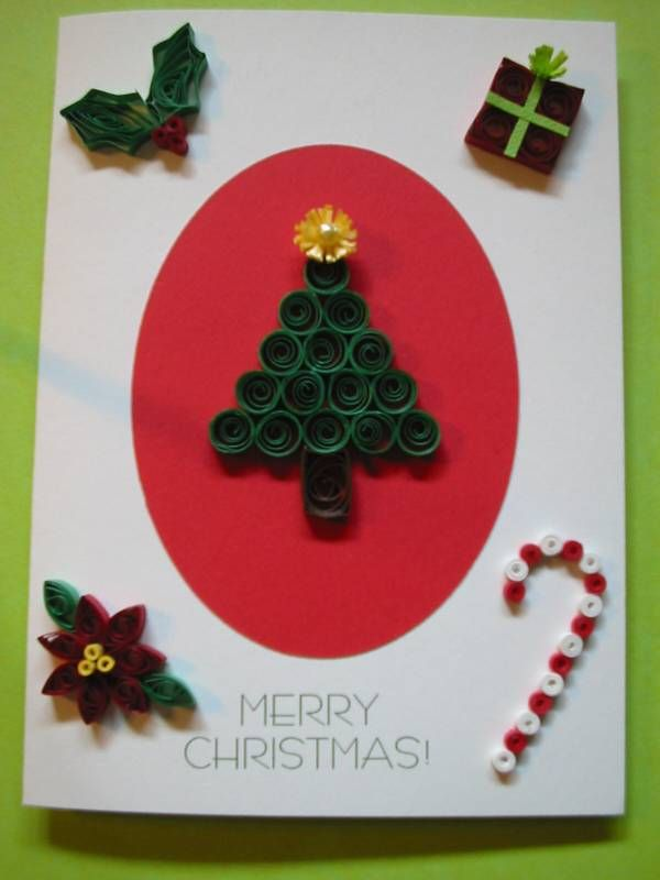 Free Christmas Quilling Patterns | Christmas Card - Quilled Creations Quilling Gallery