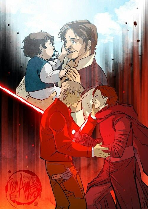 Star Wars | Han Solo and Kylo Ren. Father & Son