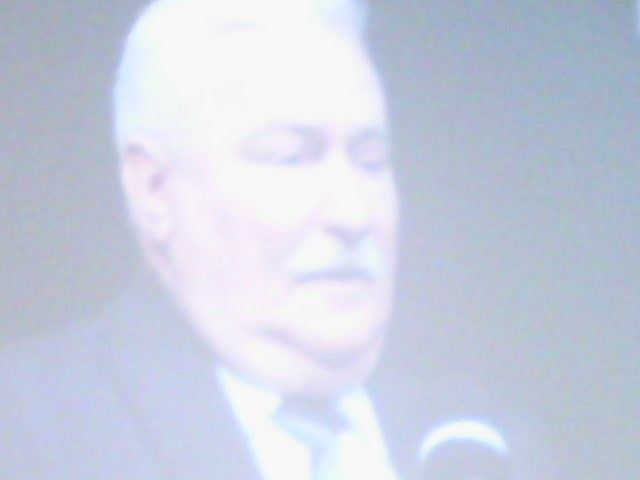 Leach Walesa opend the mind for some that attended