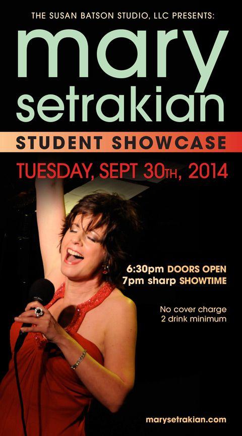 Mary Setrakian :: Singer Actress Vocal Training