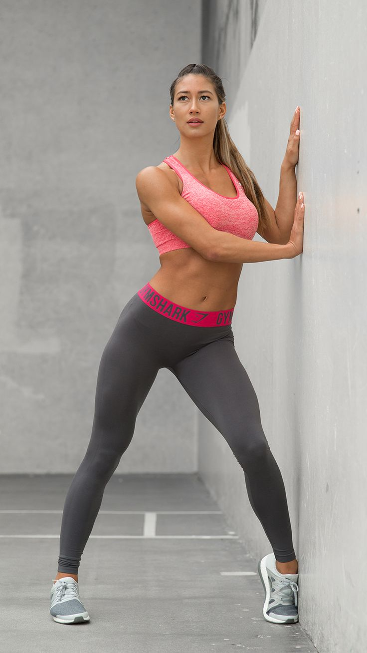 Fit Legging now available in the stylish seasonal colours of Charcoal/Cranberry.