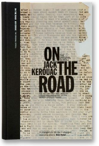 The UK edition of On the Road: The Original Scroll, the 50th anniversary edition of Jack Kerouac's seminal 'Beat' novel.