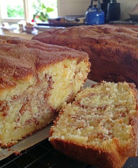 Fabulously fast & fragrant Cinnamon Cake.