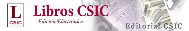 Libros CSIC: libros electrónicos del Consejo Superior de Investigaciones Científicas (CSIC)